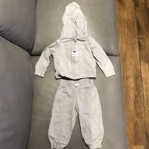 Just One You Carter's Sweater/Pant Set Gray